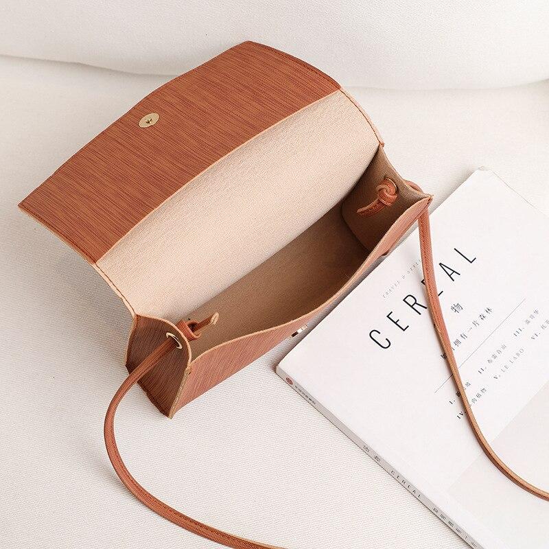 2020 New Women bags PU Fashion Ladies Shoulder Bag Solid Color Buckle Messenger Bag Tassel Charm Small Square Bag Wholesale