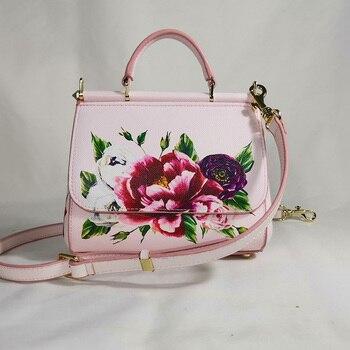 Fashion Bag Evening Bag Flower Handbag Luxury Handbag Shoulder Diagonal Bag Banquet Banquet Lady Elegant Spring Pink