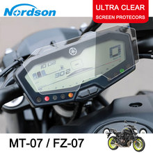 Nordson Motorcycle Cluster Scratch Screen Protection Film Protector for Yamaha MT07 MT 07 MT-07 FZ07 FZ FZ-07