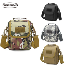 Outdoor Tactical Military Molle EDC Pouch Utility Gadget Belt Waist Bag Equipment Portable Waterproof Camping Hike