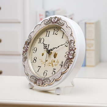 European clock bedroom quartz  living room  decoration desktop Clock LM5061719