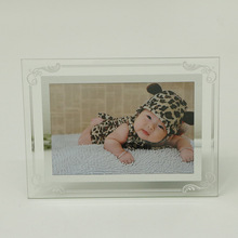 Crystal Glass Lace Photo Frame Set 6 Inch 7 8 10 A4 Simple Ins Honor Certificate Box b