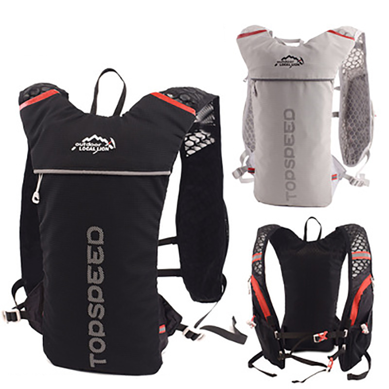 Riding bag outdoor high capacity multifunction backpack marathon trail running jogging rucksack bag|Sport Bags Covers| |  - title=