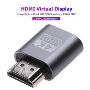 Image 5 - HDMI compatible Virtual Display Adapter 1.4 DDC EDID Dummy Plug Lock Graphics Card GPU Rig Emulator for Bitcoin BTC Mining Miner