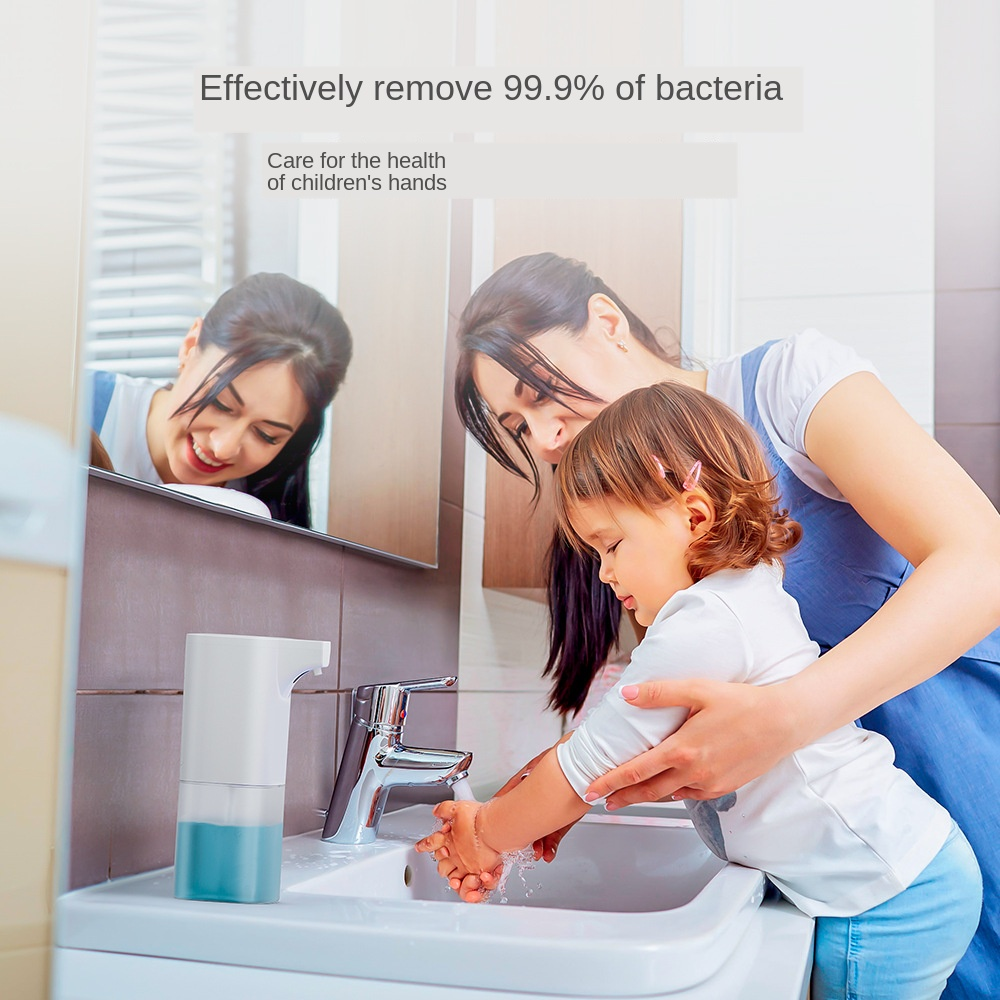 H60d633a651fb4a23b07624a64ee44d31d Automatic Foam Soap Dispenser Infrared Sensing Foam Soap Dispenser Induction Liquid Soap Dispenser For Bathroom Kitchen Hotel