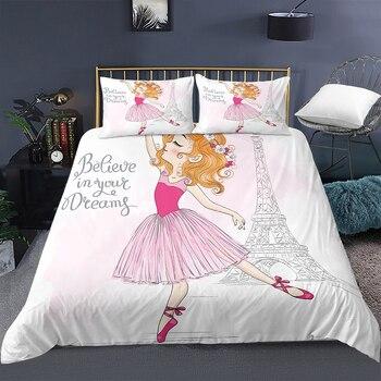 Dream Ballerina In Paris Bedding Set 22