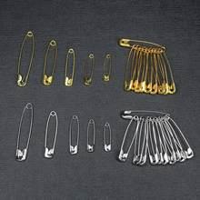 50 sztuk/partia agrafki DIY narzędzia do szycia akcesoria metalowe igły duża agrafka mała broszka akcesoria odzieżowe