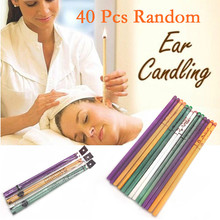 40 Pcs Coning Beewax Natural Ear Candle Ear Candling Therapy