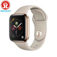 Reloj inteligente Bluetooth clon reloj de 42mm para Apple iOS iPhone Android teléfono inteligente de Samsung no Apple reloj Fitness Tracker