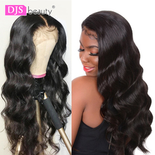 Lace Front Human Hair Wigs Pre Plucked Hairline Brazilian Bo