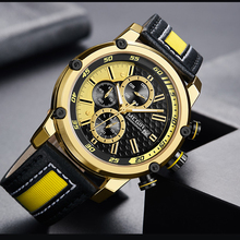 Creative Chronograph Sport Men Watch Luxury Quartz Watches Men Clock Army Military Wristwatches Hour Relogio Masculino