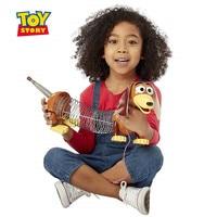 30cm Disney Toy Story 4 slinky dog 1:1pvc+ spring model doll doll Pixar animated character action figure children gift