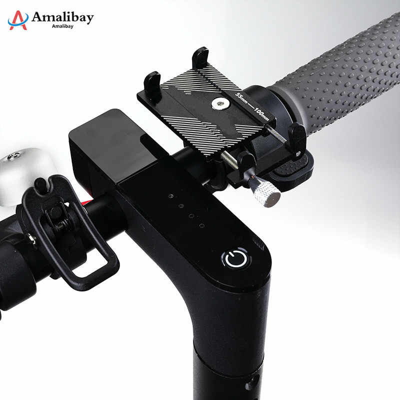 電動スクーター電話ホルダースタンド xiaomi M365 M187 プロ自転車乗馬ハンドルラック M365 スクーターアクセサリー
