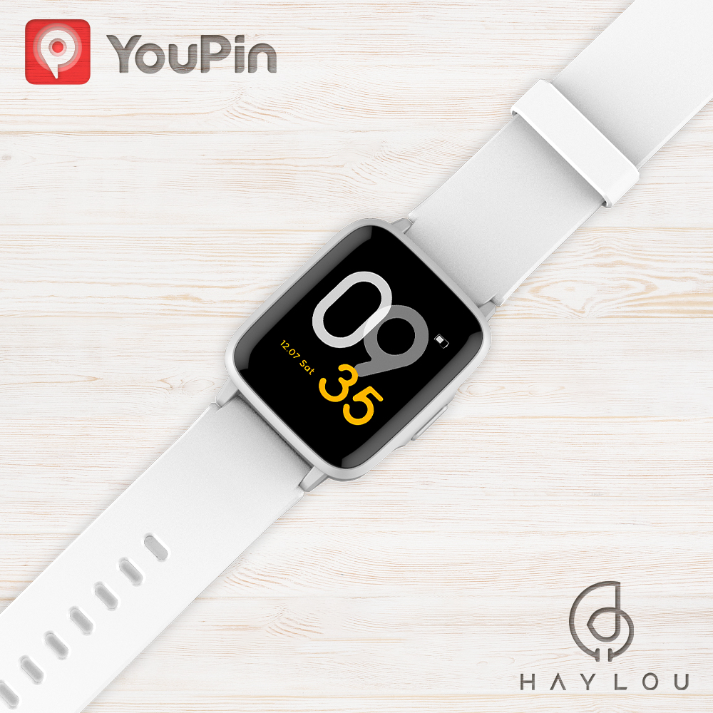 Global Version Haylou Smart Watch Sport Heart Monitor 14 Day Long Battery Life Sleep Manage Message Notification Waterproof LS01