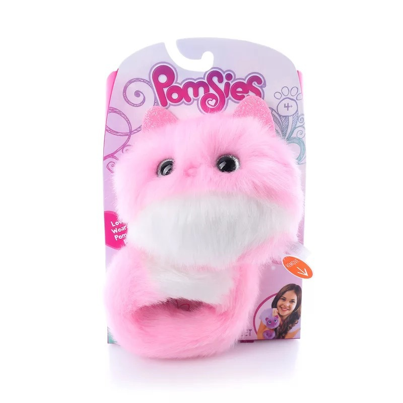 Amazon Cross-Border Hot Selling Pomsie Electric Plush Toys Can Sing Speak Surprise Cat Children's Gifts