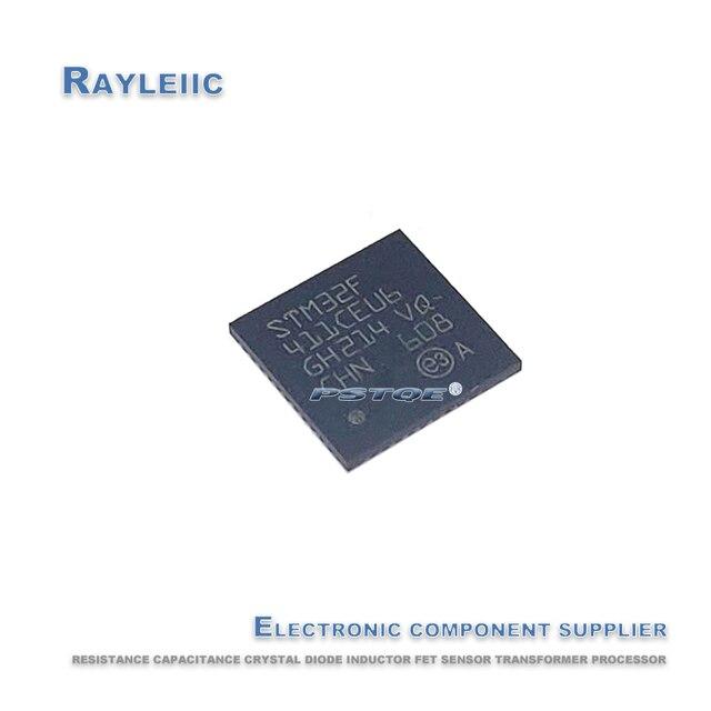 Non counterfeit.5PCS~10PCS STM32F411CEU6 QFN 48 STM32F411C STM32F411 32F411CEU6 QFN48 Embedded microcontroller New and original