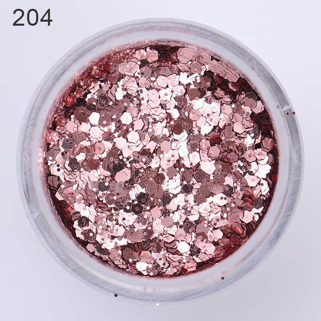 1 Box Gold Silver Nail Glitter Powder Holographic Gradient Nail Art Pigment Dust Glitter Colorful DIY Nail Art Decoration