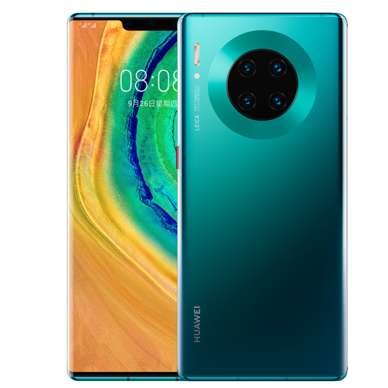 Image 3 - 6.53 inch Original HUAWEI Mate 30 Pro Mobilephone Kirin 990 Octa Core Android 10 Gesture Sensor in screen 4500 mAh Google Play-in Cellphones from Cellphones & Telecommunications