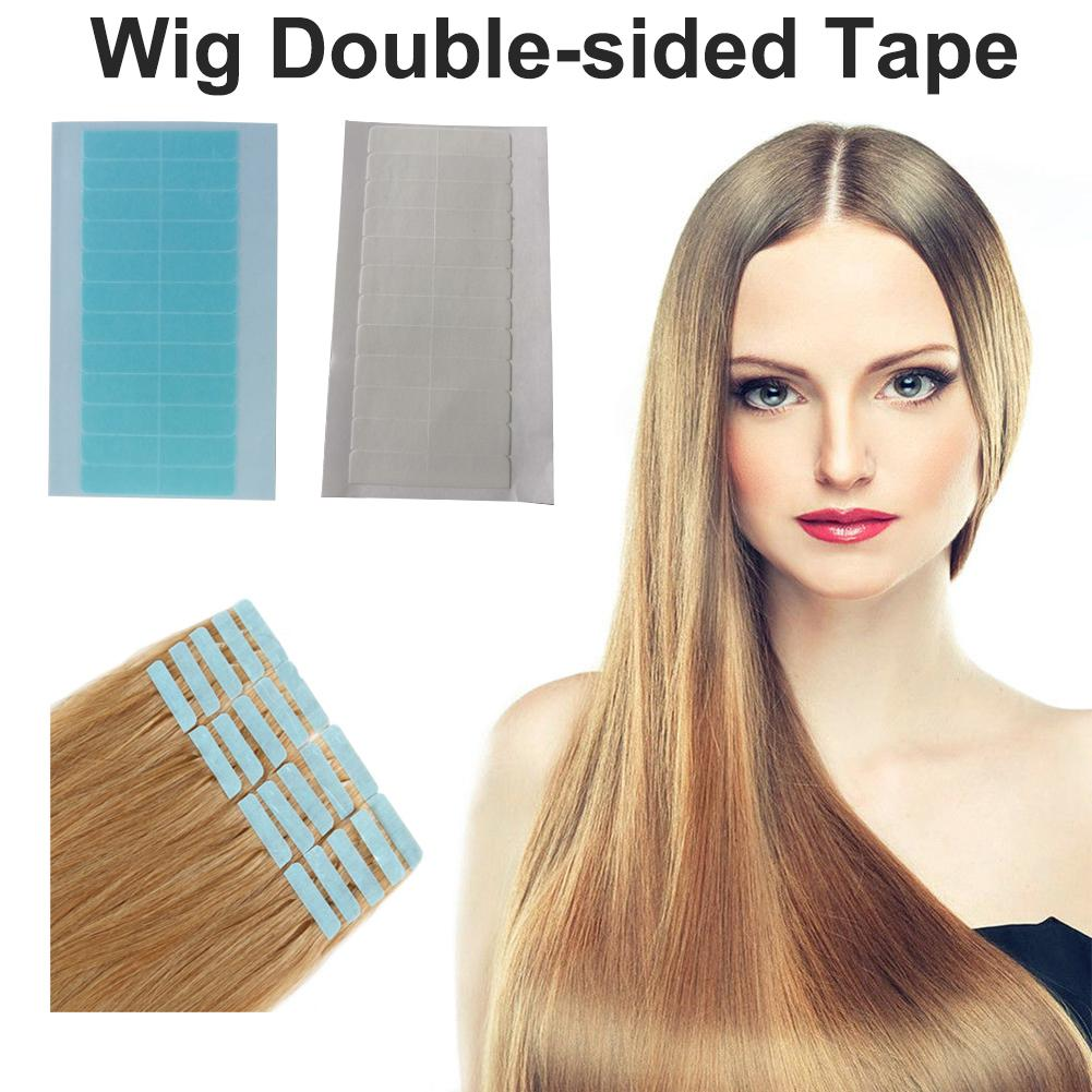 36PCS Super Hair Tape Adhesive Forehead Wig Toupee Adhesive Tape Waterproof Double Side Tape For Toupee Wig Human Hair Extension