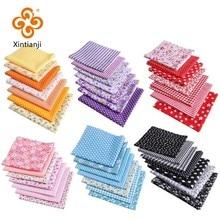 50*50Cm mélange de couleurs tissus imprimés coton Patchwork enfants tissus pour broderies accessoires faits à la main T7866-2