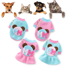 New Cartoon Dog Clothes for Small Dogs Spring Antumn Dog Coat Jacket Clothing Puppy Cartoon Pet Clothes Dress for Chihuahua leisure cartoon chihuahua dog clothes for puppy overalls 2019 spring dog clothes for small dogs coats jackets puppies clothing