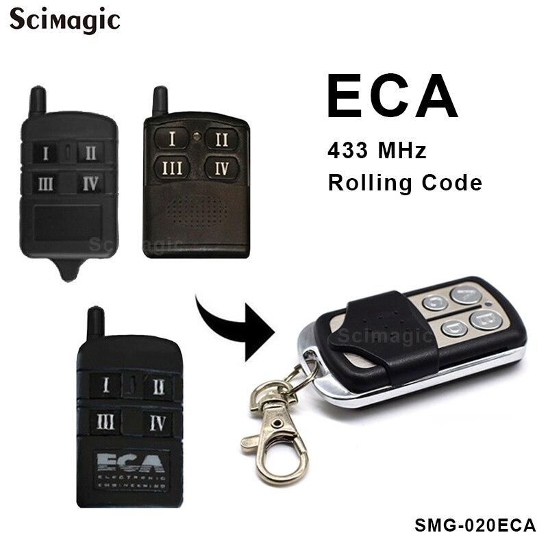 ECA Gate Garage Door Remote Control Compatible Electronic Engineering Australia ECA 433mhz Remote Control Rolling Code