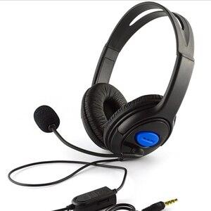 Image 2 - سماعات رأس سلكية للألعاب فوق الأذن ، 3.5 مللي متر ، سماعات أذن ستيريو ، موسيقى ، جهير ، مع ميكروفون ، لأجهزة PS4 ، الكمبيوتر المحمول ، الهاتف الذكي