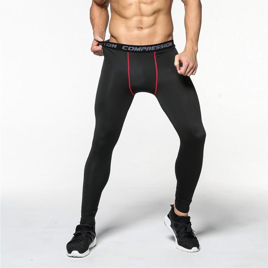 Mens Compression Pants Base Layer Sweatpants Leggings Running Fitness Joggers