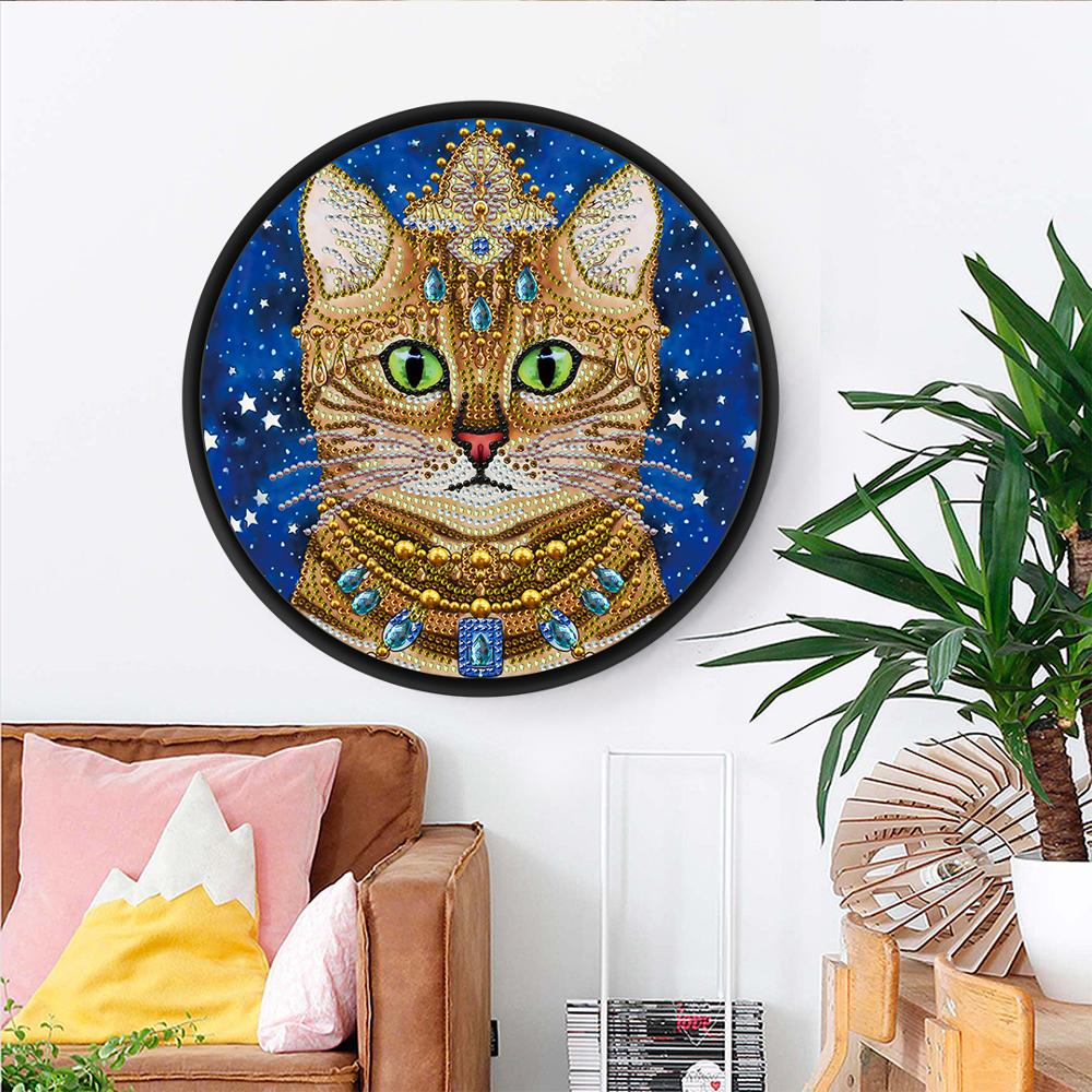 Big Offer 4e2b Cat Mural Tessles Diamond Painting Beautiful