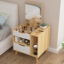 Современный столик для макияжа в скандинавском стиле, для спальни, экономичный простой столик для макияжа с зеркалом, мебель для спальни