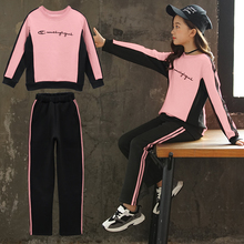 Girls Suits Clothing-Sets Pants Shirts Teen Winter Children 12-Years 6 9-10 5 7 8 Autumn