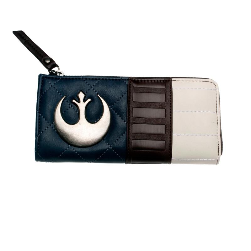 Star Wars Wallet Large Capacity Wallets Female Purse Lady Purses Phone Pocket Card Holder DFT5508
