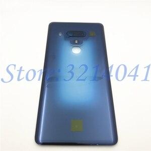 Image 4 - חדש מקורי 6.0 סנטימטרים עבור HTC U12 בתוספת חזרה סוללה כיסוי אחורי דלת פנל זכוכית שיכון מקרה עם לוגו
