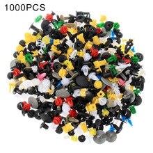 1000 pçs/set plástico automotivo rebite carro pára-choques interior guarnição push pin clipes kit acessórios do carro