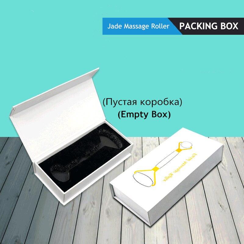 Натурального нефрита каменный ролик упаковочная коробка пустая коробка подарка двойной головкой лица массажный ролик из ЭВА Чехол книжка пакет коробки качество магнитное притяжение|Устройство для ухода за кожей лица| | АлиЭкспресс