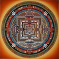 New Puzzle 900 Pieces Square Adult Puzzle Mandala Guanyin Town House To Avoid Evil Home Decoration Painting