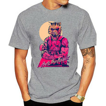 Geek Hotline Miami Men t-shirt Clothing New 2020 Male T Shirt Print Pattern o-neck Casual top-down Shooter Video Game Teeshirt