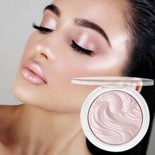 Bronzers-Palette Highlight Pallet Cosmetics Makeup Pink-Powder Shimmer Illuminator Glow-Face