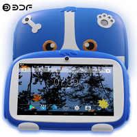 ¡Novedad! Tablet Pc para niños de 7 pulgadas Quad core Android 8,0, Google Play, doble cámara, 16GB, WiFi, regalos favoritos de los niños, tabletas