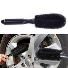 Vehicle Wheel Brush Washing Car Tire Rim Cleaning Handle Brush Tool for Car Truck Motorcycle Bicycle Car Brush Tool hot New Arri car tools clean 1pcs car truck motorcycle bicycle washing cleaning tool wheel tire rim scrub