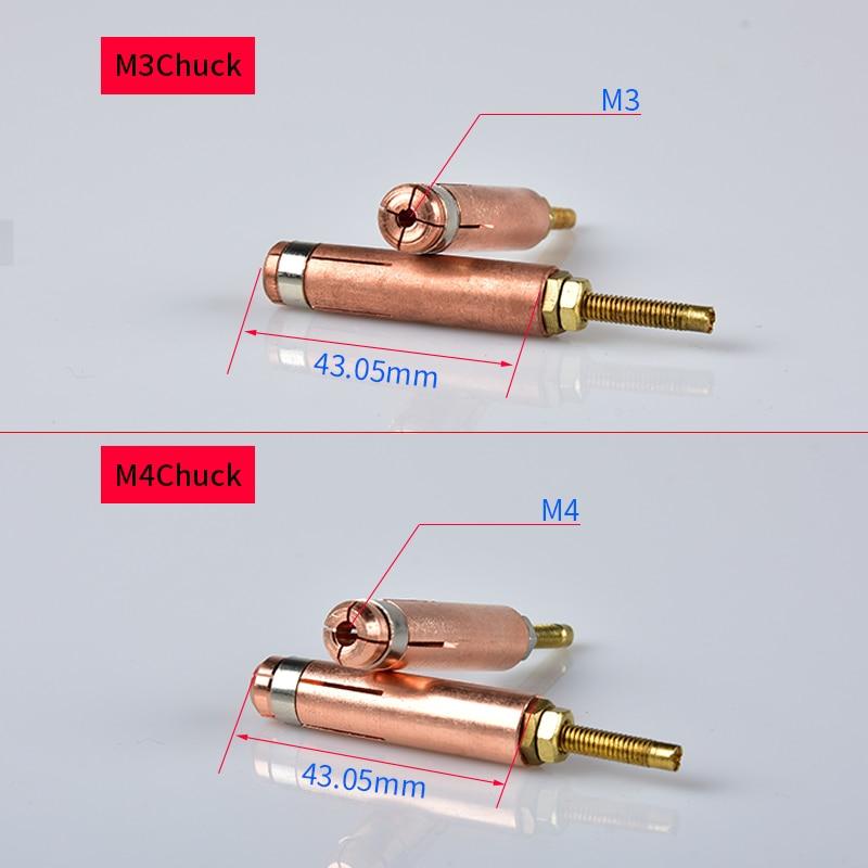 2pcs Stud Welding Gun Collets M5