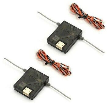 2 sztuk 2.4GHz JR Spek nadajnik-odbiornik AR6210 AR8000 AR9020 DSMX DSM2 z dostępem do kanałów satelitarnych