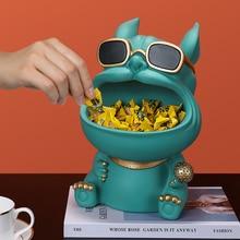 3D Bulldog,Figurine Miniature,Statue,Home Decoration,Sculpture,Room Desk Decor,Table Storage Box,Wedding Party Decorative Art
