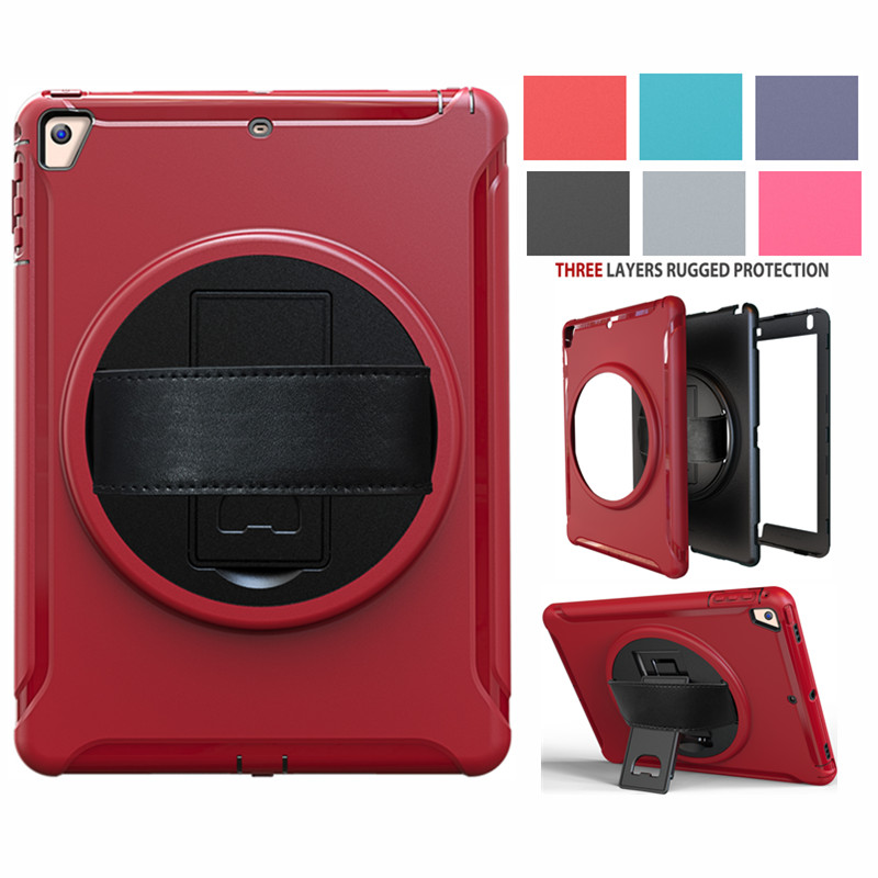 Case for iPad 9.7 2017 2018 New A1822/A1893 Kids Safe Shockproof Armor cover For ipad Pro9.7/Air2/ iPad 6th generation Case