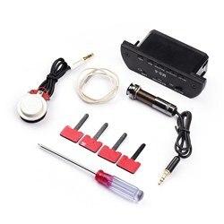 Акустическая гитара звукосниматель резонансные звукосниматели система предварительного усиления с перезаряжаемой батареей