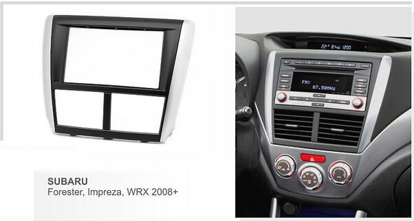 2-Pack Replacement Radio Wiring Harness for 2013 Subaru Impreza WRX STI Wagon 4-Door 2.5L Car Stereo Connector