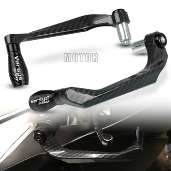 For Kawasaki VERSYS 650 2006-2016 VERSYS650 Motorcycle 7/8 22mm Handlebar Brake Clutch Levers Guard Protector Handle Proguard for suzuki gsr750 2011 2016 gsr 750 motorcycle 7 8 22mm handlebar brake clutch levers guard protector handle bar guard proguard