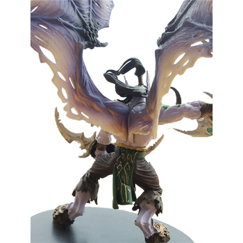 WOW 20CM 13 Inch Toys World Of Warcraft Game Action Figure Demon Hunter Illidan Devil DC05 Figma Collectible Model PVC Toy 2