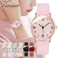 Casual Quarz Leder Band Newv Strap Uhr Analog Armbanduhr 2020 Neue Frauen Uhren Luxus Armband Uhr Damen Schmuck