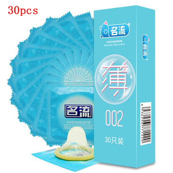 Super Ultra Thin Condoms 30pcs MingLiu Intimate Condone Good Sex Products Natural Rubber Latex Penis Sleeve long-lasting For Men 1